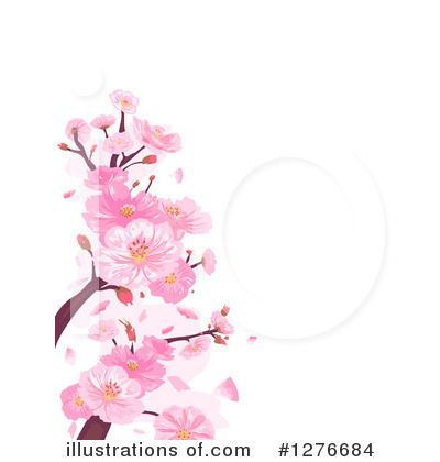 Blossoms Clipart #1276684 by BNP Design Studio
