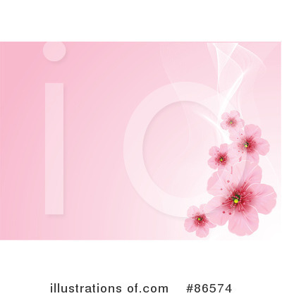 Cherry Blossoms Clipart #86574 by Pushkin