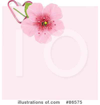 Cherry Blossoms Clipart #86575 by Pushkin