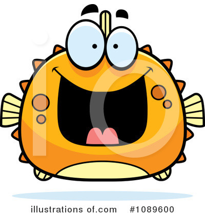 Fish Clipart #1089600 by Cory Thoman