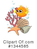 Blowfish Clipart #1344585