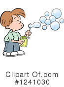 Blowing Bubbles Clipart #1241030 by Johnny Sajem