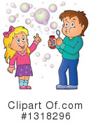 Blowing Bubbles Clipart #1318296 by visekart