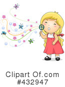 Blowing Bubbles Clipart #432947 by BNP Design Studio