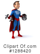 Blue And Red Male Super Hero Clipart #1288420 by Julos