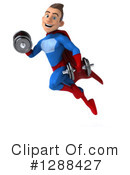 Blue And Red Male Super Hero Clipart #1288427 by Julos