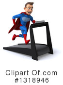Blue And Red Male Super Hero Clipart #1318946 by Julos