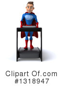 Blue And Red Male Super Hero Clipart #1318947 by Julos