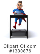 Blue And Red Male Super Hero Clipart #1330876 by Julos
