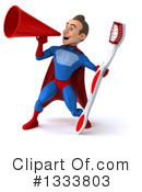 Blue And Red Male Super Hero Clipart #1333803 by Julos