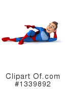Blue And Red Male Super Hero Clipart #1339892 by Julos