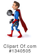 Blue And Red Male Super Hero Clipart #1340505 by Julos