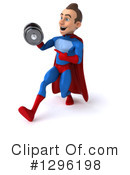 Blue And Red Super Hero Clipart #1296198 by Julos