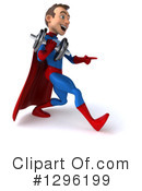 Blue And Red Super Hero Clipart #1296199 by Julos