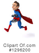 Blue And Red Super Hero Clipart #1296200 by Julos