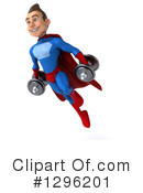 Blue And Red Super Hero Clipart #1296201 by Julos