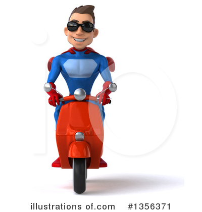 Blue And Red Super Hero Clipart #1356371 by Julos