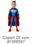 Blue And Red Super Hero Clipart #1368367 by Julos