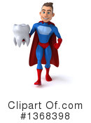 Blue And Red Super Hero Clipart #1368398 by Julos