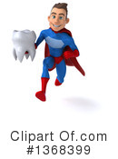 Blue And Red Super Hero Clipart #1368399 by Julos