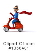 Blue And Red Super Hero Clipart #1368401 by Julos