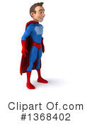Blue And Red Super Hero Clipart #1368402 by Julos