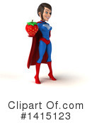 Blue And Red Super Hero Clipart #1415123 by Julos
