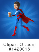 Blue And Red Super Hero Clipart #1423016 by Julos