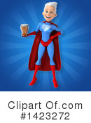 Blue And Red Super Hero Clipart #1423272 by Julos
