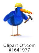 Blue Bird Clipart #1641977 by Steve Young