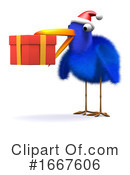 Blue Bird Clipart #1667606 by Steve Young