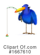 Blue Bird Clipart #1667610 by Steve Young