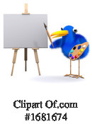 Blue Bird Clipart #1681674 by Steve Young