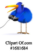 Blue Bird Clipart #1681684 by Steve Young
