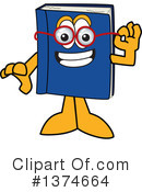 Blue Book Clipart #1374664 by Toons4Biz
