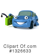 Blue Car Clipart #1326633 by Julos