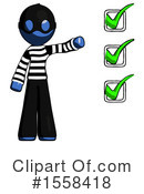 Blue Design Mascot Clipart #1558418 by Leo Blanchette