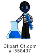 Blue Design Mascot Clipart #1558437 by Leo Blanchette