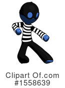 Blue Design Mascot Clipart #1558639 by Leo Blanchette