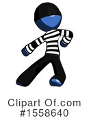 Blue Design Mascot Clipart #1558640 by Leo Blanchette