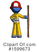 Blue Design Mascot Clipart #1599673 by Leo Blanchette