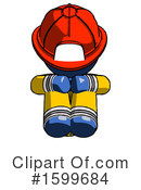 Blue Design Mascot Clipart #1599684 by Leo Blanchette