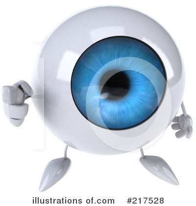 Eyeball Character Clipart #217528 by Julos