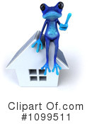 Blue Frog Clipart #1099511