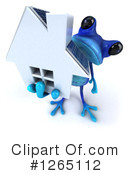 Blue Frog Clipart #1265112