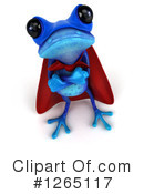 Blue Frog Clipart #1265117