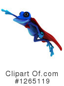 Blue Frog Clipart #1265119