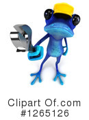 Blue Frog Clipart #1265126