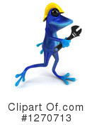 Blue Frog Clipart #1270713