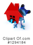 Blue Frog Clipart #1294184